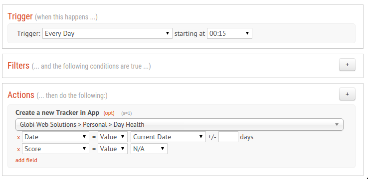 How I manage my Health in Podio